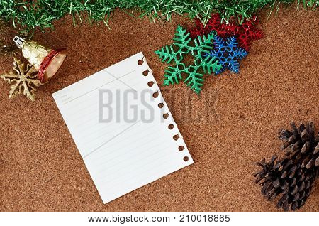 Christmas Decoration And New Year 2018 Concept