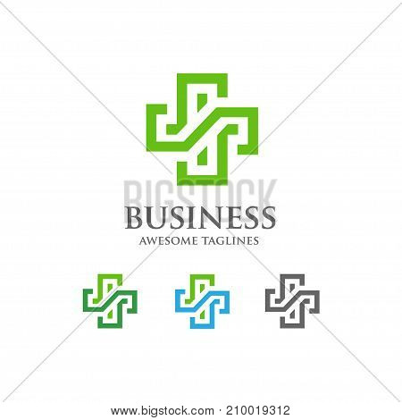 abstract health cross medical logo, Religious sign, Ambulance label, First aid symbol, Plus Vector health cross illustration