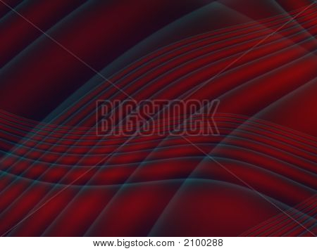 Abstract Red Lines
