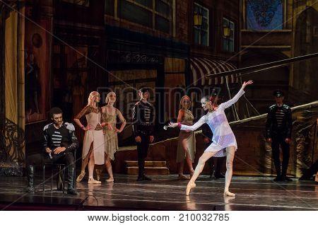 Modern Ballet Carmen And Jose