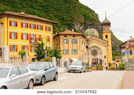 Architecture Of Mezzocorona, Italy.