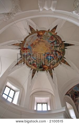Cupola In Monastery