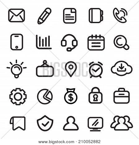 Icons, Business, Modern, Design Elements. Best for Minimal concept.