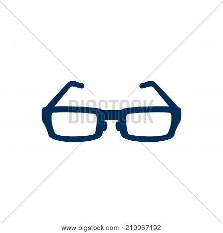 Isolated Spectacles Icon Symbol On Clean Background.