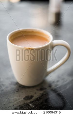 Cup of Coffee After the First Sip