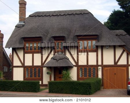 New Thatch English Cottage