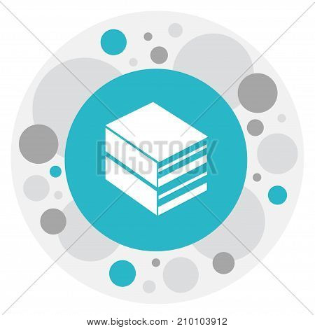 Vector Illustration Of Education Symbol On Library Icon