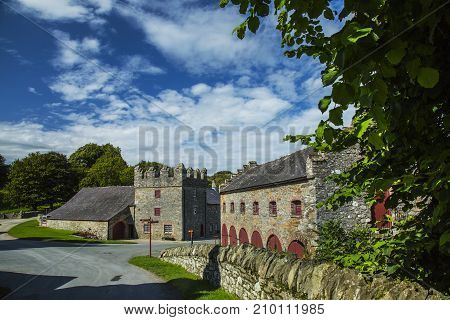 Castleward Strangford Co.down North ireland UK 17th of August 2017 A National Trust property used as winterfell for filming Game of Thrones
