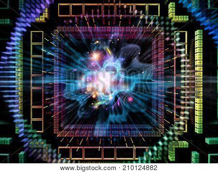 Acceleration Of Quantum Space