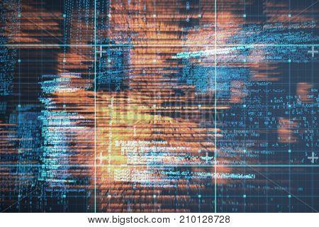 Blue codes against blue data