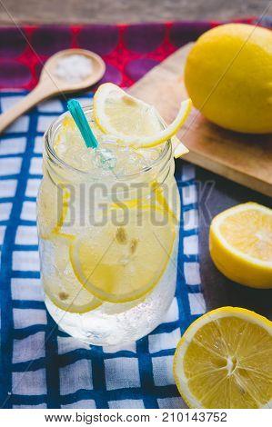 Lemon juice soda lemon juice soda salt or honey help quench thirst. Is a herbal sweeten