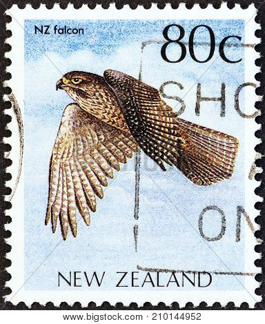 NEW ZEALAND - CIRCA 1988: A stamp printed in New Zealand from the