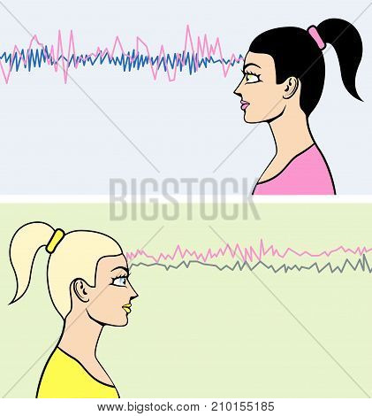 Brainwaves Human Power Telepathy Illustration Clip-art Image