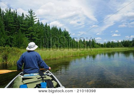 Canoeing In The Quetico
