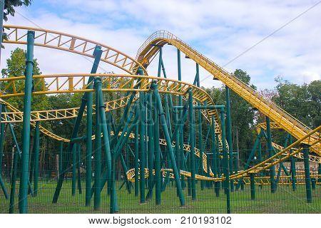 Scaring Roller Coaster.