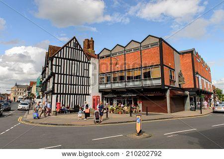 Architecture Of Stratford On Avon, England, United Kingdom