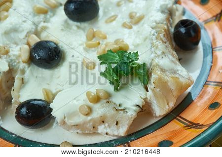 Middle Eastern Baked Fish