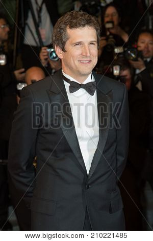 CANNES, FRANCE - MAY 19, 2016: Guillaume Canet  attends the 'It's Only The End Of The World (Juste La Fin Du Monde)'  premiere during the 69th annual Cannes Film Festival at the Palais des Festivals