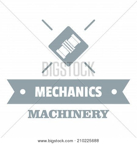 Work machinery logo. Simple illustration of work machinery vector logo for web