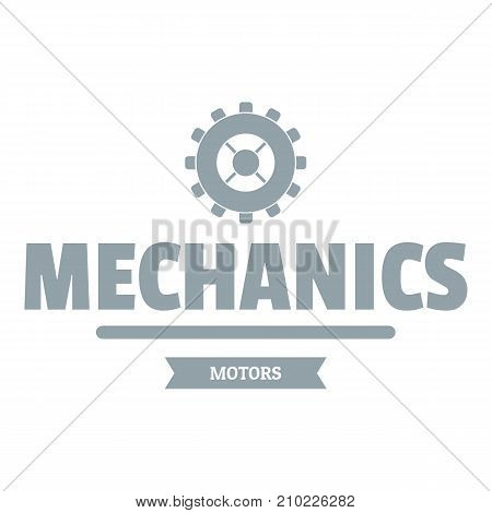 Business machinery logo. Simple illustration of business machinery vector logo for web
