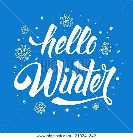 Hello Winter Phrase