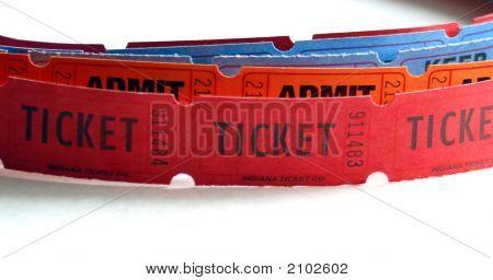 Strip Of Tickets