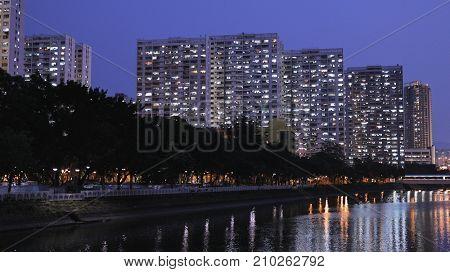 Hong Kong public housing building