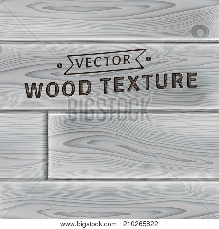 Background, texture of realistic natural stained wooden planks in gray color in modern style. Simple, usable design