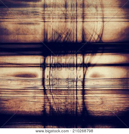 Weathered grunge elements on vintage texture for your design. Aged background with different color patterns