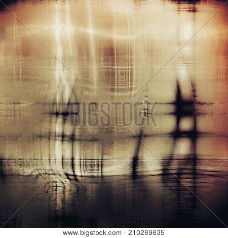 Old, grunge background or damaged texture in retro style. With different color patterns