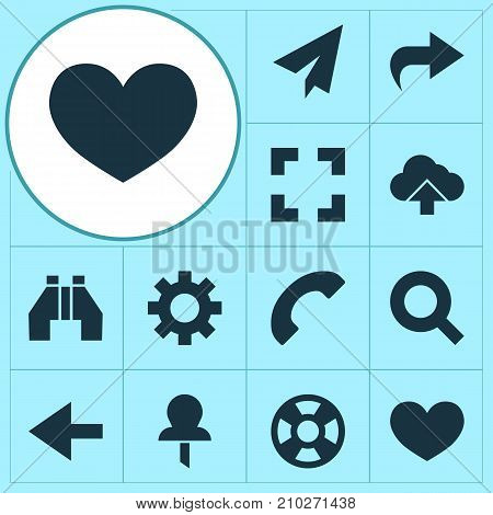 User Icons Set. Collection Of Origami, Load, Screenshot And Other Elements
