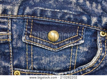 Jeans background. For design View from the top