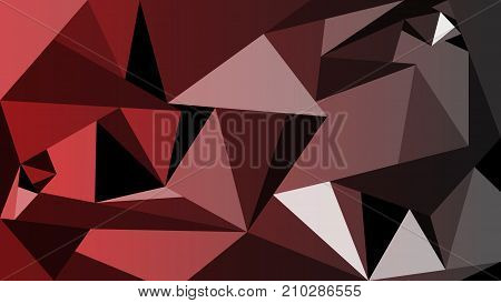 Modern red and black polygon background wallpaper