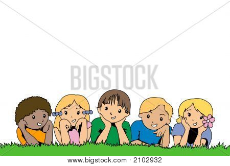 Kids On The Grass