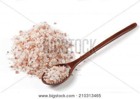 Isolated Wood Spoon