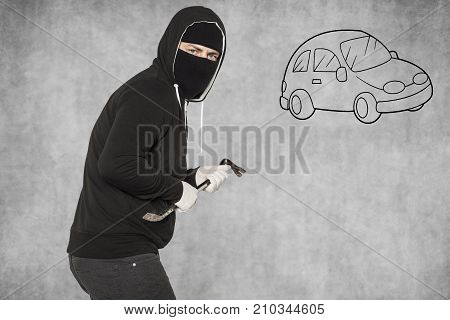 Car Theft, The Thief Is Incognito