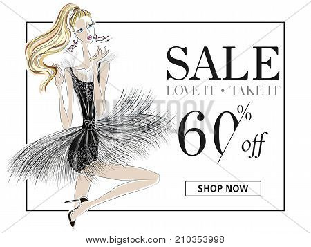 Black White Fashion Vector Photo Free Trial Bigstock