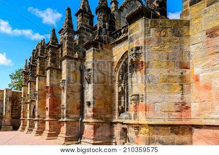 Rosslyn Chapel , Scotland