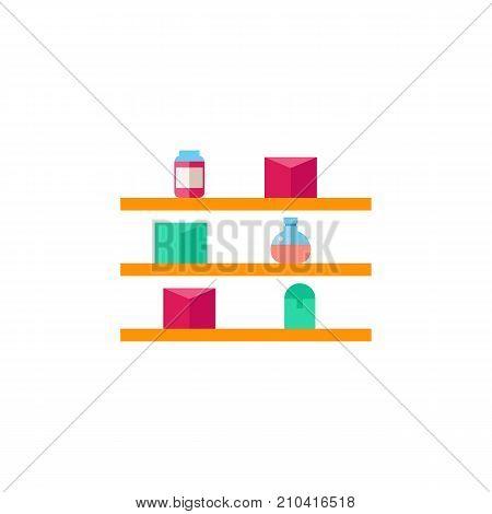Perfumes shelf. Retail, fragrance, essence. Beauty concept. Can be used for topics like perfumery, fashion, cosmetics.