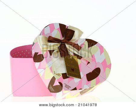 Gift Heart Pink Box