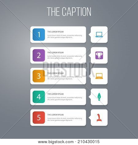 Icon Appliance Set Of Gamepad, Laptop, Unplugged And Other Vector Objects