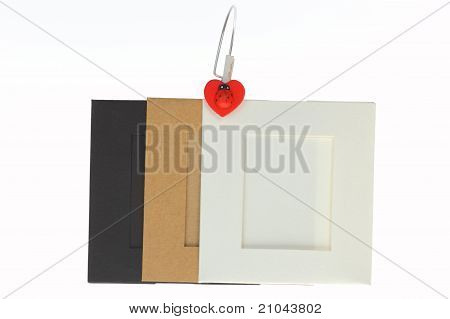 Picture Frame Empty Color Paper