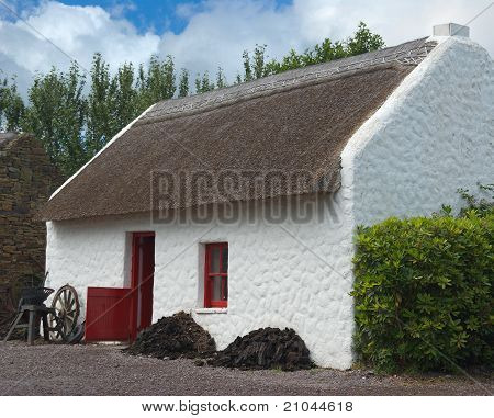 Irish Thatched Cottage