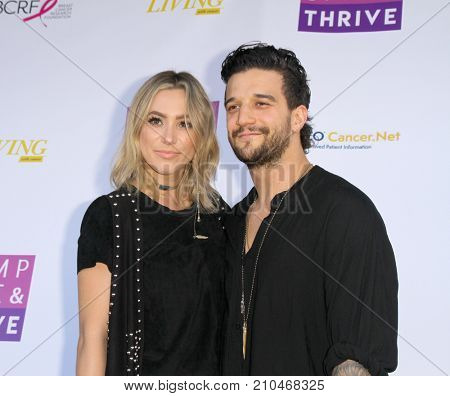BC Jean and Mark Ballas of Alexander Jean arrive at the taping of