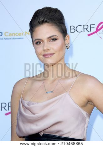 Calysta Bevier arrives at the taping of