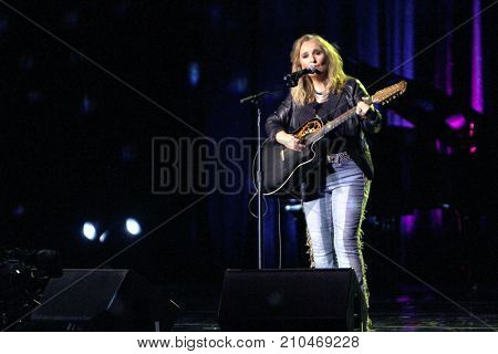 Melissa Etherridge performs at the taping of