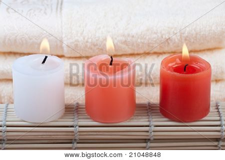 Red And White Spa Concept