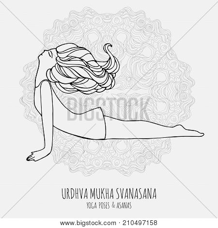 Cute Girl Doing Yoga Vector Photo Free Trial Bigstock