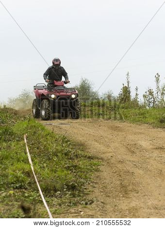 Sundays Quad Ride On The Off-road.