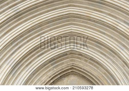 Detail Saint Michael Portico